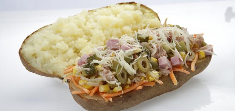 Multiple flavour potato
