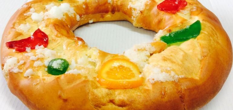 Ring shaped cake